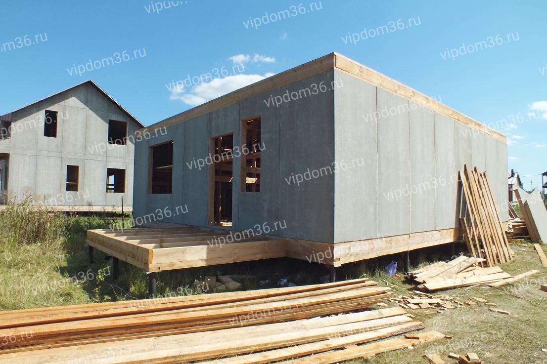 Проекты каркасных домов и коттеджей с фото и ценами