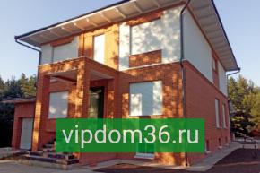 Отделка фасада дома: сайдигом, штукатурный, камень